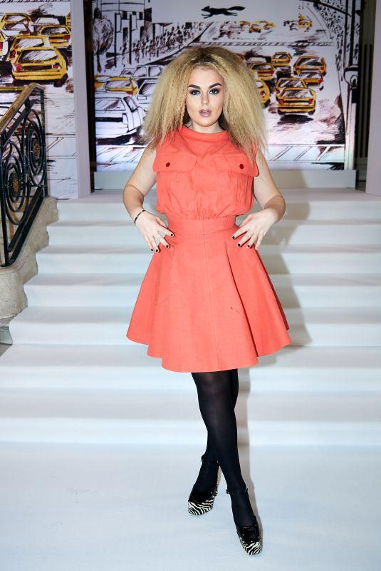 TALLIA STORM at Paul Costelloe Show at London Fashion Week 02/17/2020