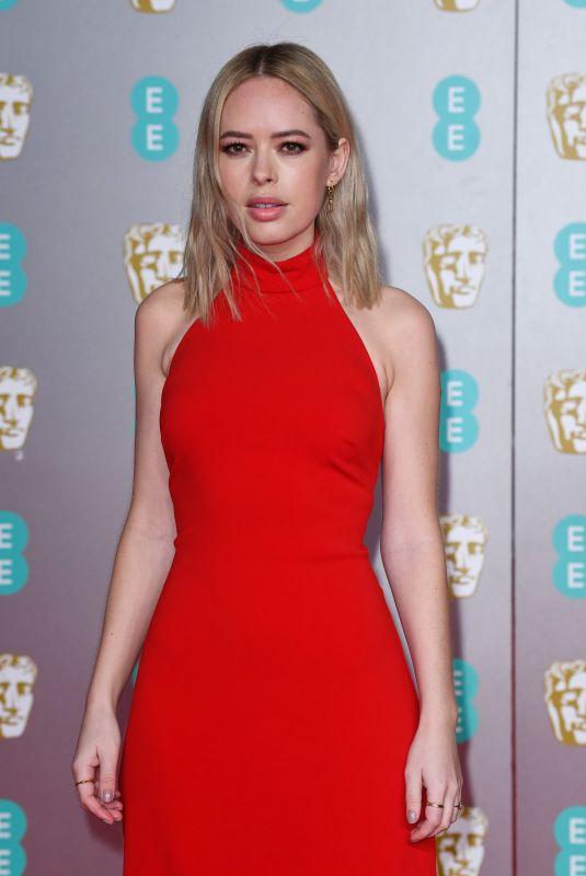 TANYA BURR at EE British Academy Film Awards 2020 in London 02/01/2020