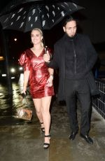 TIGERLILY TAYLOR Arrives at NME Awards After-party in London 02/12/2020