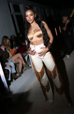 TINASHE at Palm Angels Fashion Show at NYFW in New York 02/09/2020
