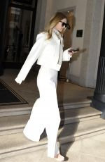 TONI GARRN and Alex Pettyfer Leaves Their Hotel in Milan 02/23/2020