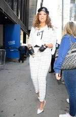 TYRA BANKS Arrives at Good Morning America in New York 02/24/2020