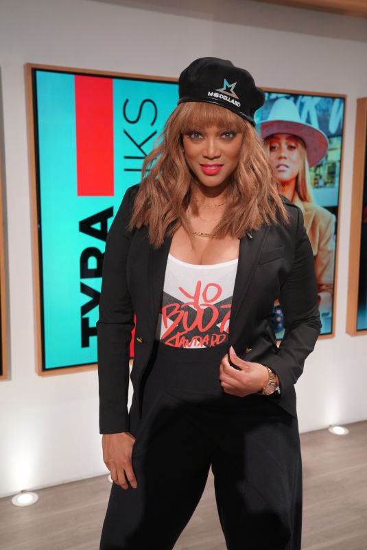 TYRA BANKS at The Talk 01/31/2020