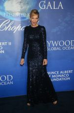 UMA THURMAN at 2020 Hollywood for the Global Ocean Gala in Beverly Hills 02/06/2020