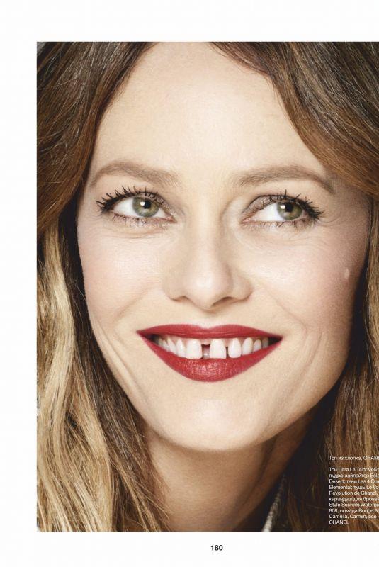 VANESSA PARADIS in Elle Magazine, Russia March 2020