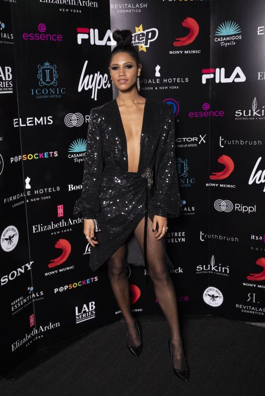 VICK HOPE at Sony Brit Awards After-party in London 02/18/2020