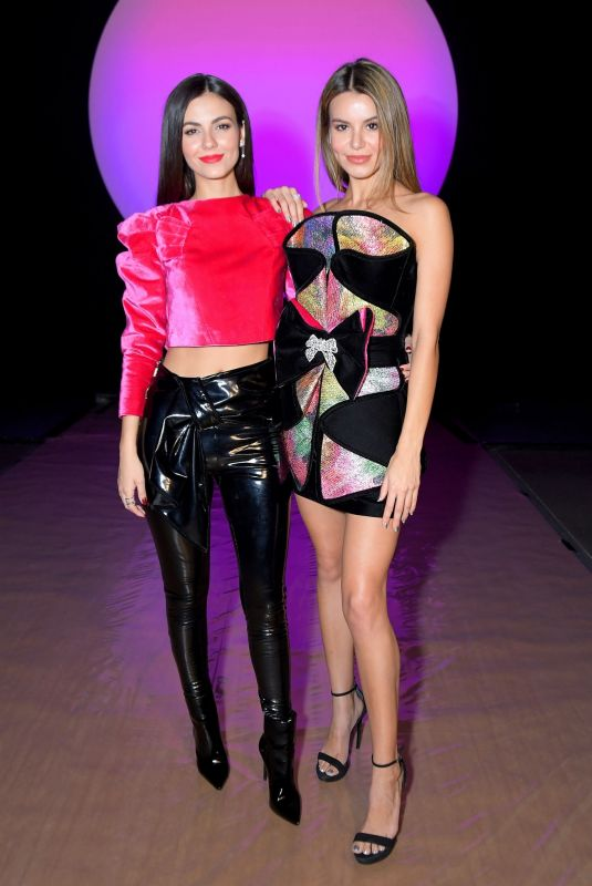 VICTORIA JUSTICE and MADISON REED at Raisa Vanessa Fashion Show at NYFW in New York 02/12/2020