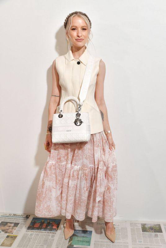 VICTORIA MAGRATH at Dior Show at Paris Fashion Week 02/25/2020