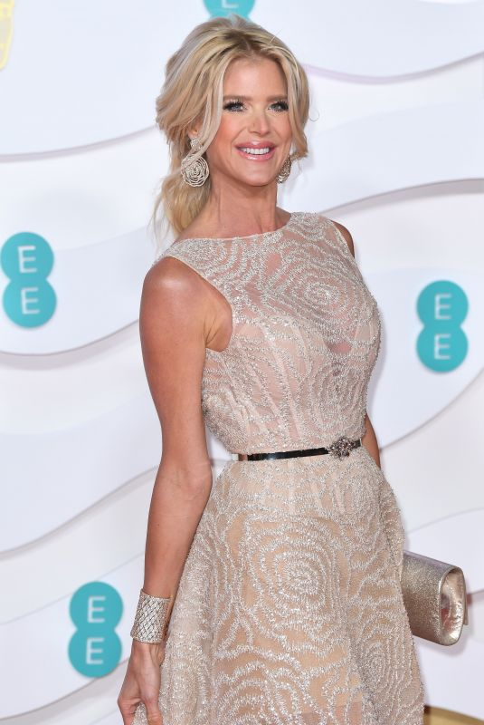 VICTORIA SILVSTEDT at EE British Academy Film Awards 2020 in London 02/01/2020