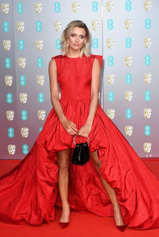 WALLIS DAY at EE British Academy Film Awards 2020 in London 02/01/2020
