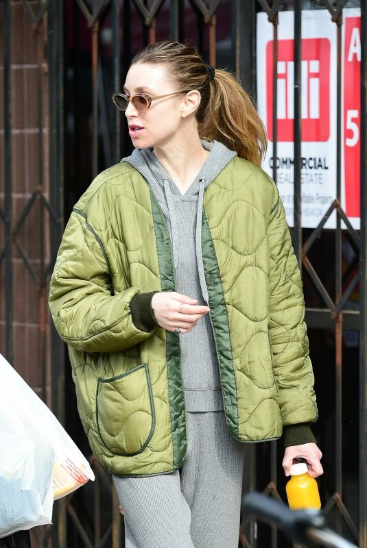 WHITNEY PORT at Farmers Market in Los Angeles 02/23/2020