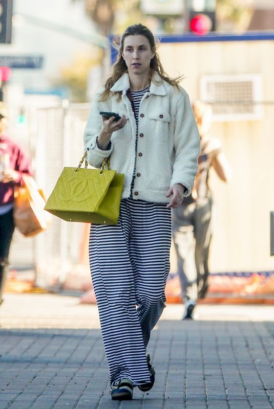 WHITNEY PORT Out and About in Los Angeles 02/14/2020
