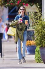 WHITNEY PORT Out Shopping in Studio City 02/17/2020