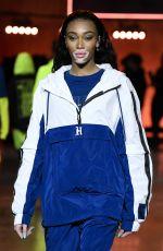 WINNIE HARLOW at TommyNow Show at London Fashion Week 02/16/2020