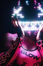 WWE - Naomi, Glow In The Dark Photoshoot