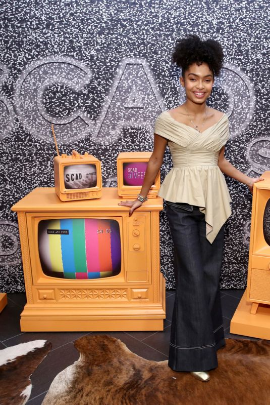 YARA SHAHIDI at Scad Atvfest 2020 – The Spirit and Style of Grown-ish in Atlanta 02/28/2020