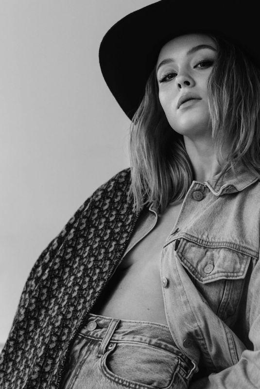 ZARA LARSSON at a Photoshoot, February 2020