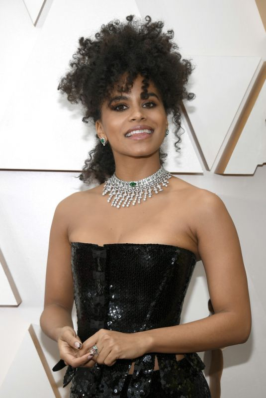 ZAZIE BEETZ at 92nd Annual Academy Awards in Los Angeles 02/09/2020