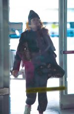 ZENDAYA at JFK Airport in New York 02/16/2020