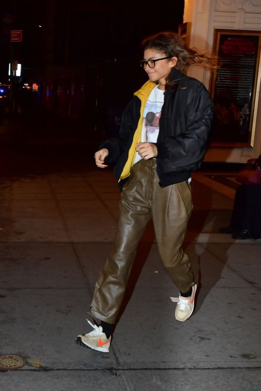 ZENDAYA Night Out in New York 02/04/2020