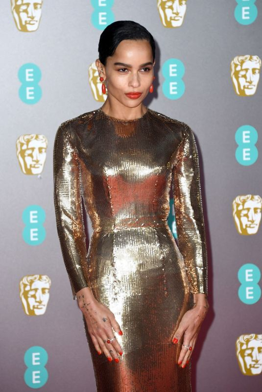ZOE KRAVITZ at EE British Academy Film Awards 2020 in London 02/01/2020