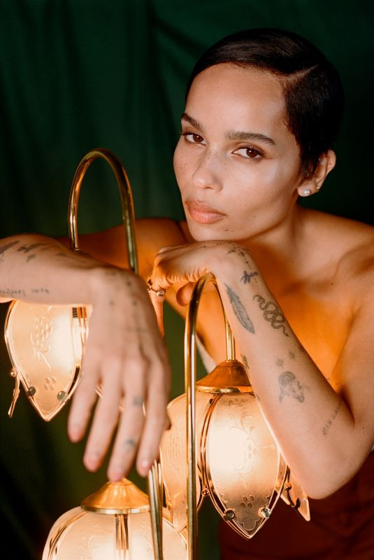 ZOE KRAVITZ for The New York Times, February 2020