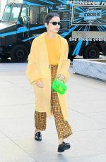 ZOE KRAVITZ Leaves SriusXM Townhall in New York 02/14/2020