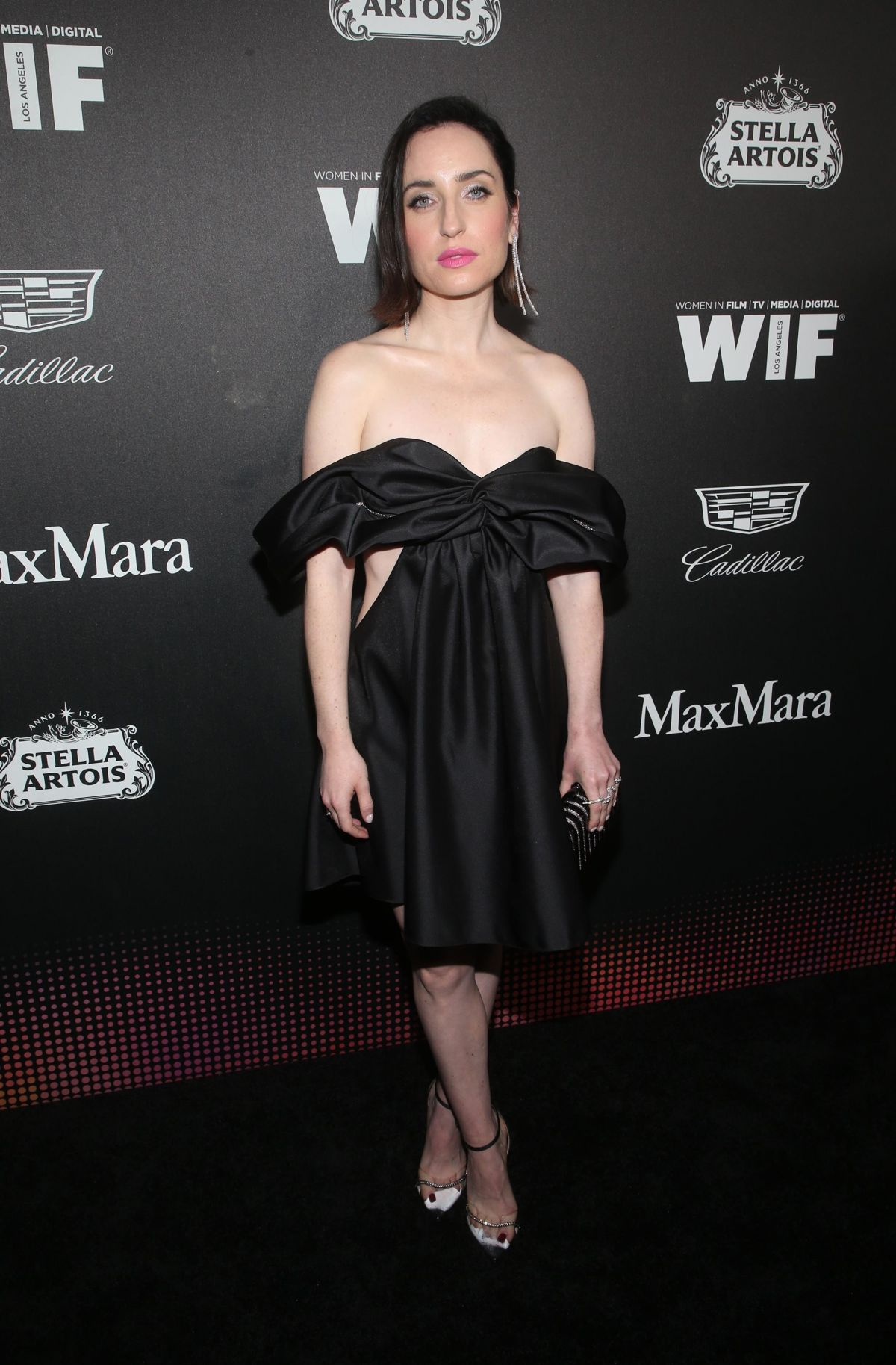 ZOE LISTER-JONES at 13th Annual Women in Film Female Oscar Nominees Party in Hollywood 02/07 ...