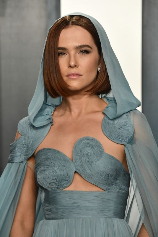 ZOEY DEUTCH at 2020 Vanity Fair Oscar Party in Beverly Hills 02/09/2020