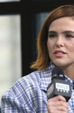 ZOEY DEUTCH at Build Series in New York 02/12/2020