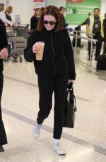 ZOEY DEUTCH at Los Angeles International Airport 02/26/2020
