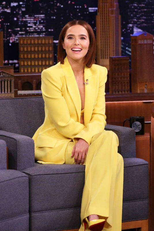 ZOEY DEUTCH at Tonight Show Starring Jimmy Fallon in New York 02/14/2020