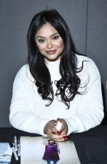 AFSHAN AZAD at London Comic-con Spring 03/01/2020