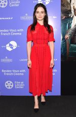 AISLING FRANCOISI at The Truth Premiere at Rendez-vous with French Cinema in New York 03/05/2020