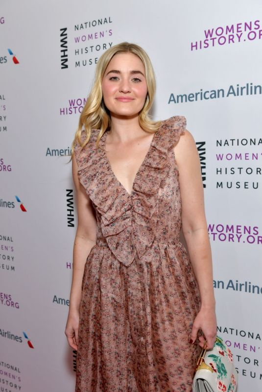 AJ MICHALKA at National Women's History Museum Women Making History Awards in Los Angeles 03/08/2020