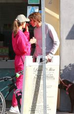 ALESSANDRA AMBROSIO and Nicolo Oddi Out with Their Dog in Santa Monica 03/19/2020