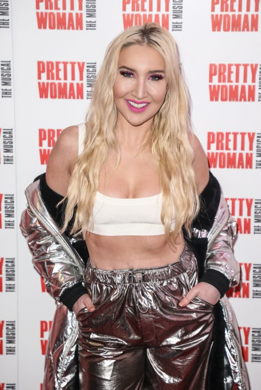 ALEXIS KNOX at Pretty Woman: The Musical Press Night in London 03/02/2020