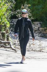 ALI LARTER Out Hikinig in Pacific Palisades 03/25/2020