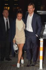 ALICIA VIKANDER and Michael Fassbender Arrives at Calm with Horses Premiere in Dublin 03/05/2020
