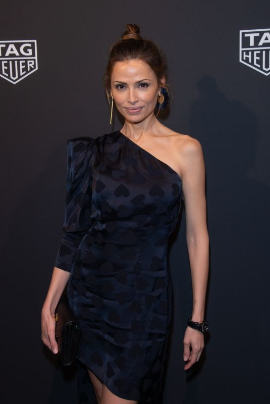 ALMUDENA FERNANDEZ at Launch of New Connected Watch by Tag Heuer in New York 03/12/2020
