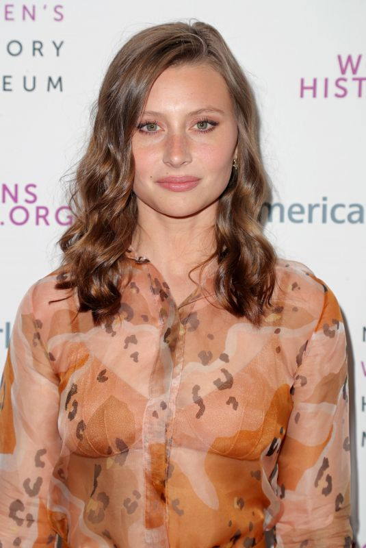 ALY MICHALKA at National Women's History Museum Women Making History Awards in Los Angeles 03/08/2020