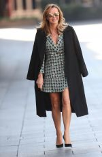 AMANDA HOLDEN Leaves Heart Radio Show in London 03/26/2020