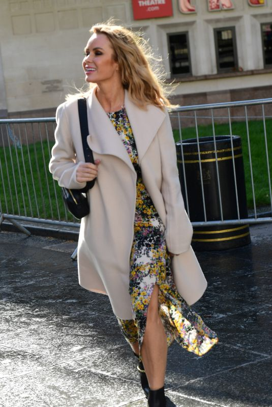 AMANDA HOLDEN Out and About in London 03/12/2020