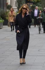 AMANDA HOLDEN Out and About in London 03/18/2020