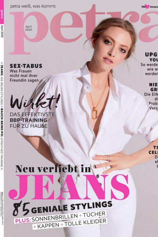 AMANDA SEYFRIED in Petra Magazine, April 2020