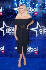 AMBER DAVIES at Global Awards 2020 in London 03/05/2020