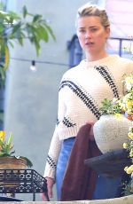AMBER HEARD and BIANCA BUTTI Clean Out Their Garage in Los Angeles 03/27/2020