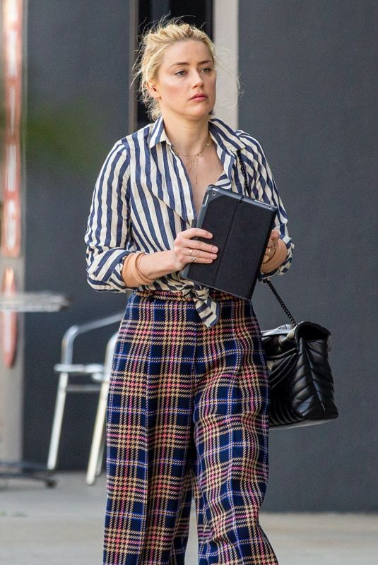 AMBER HEARD Out and About in Beverly Hills 03/04/2020