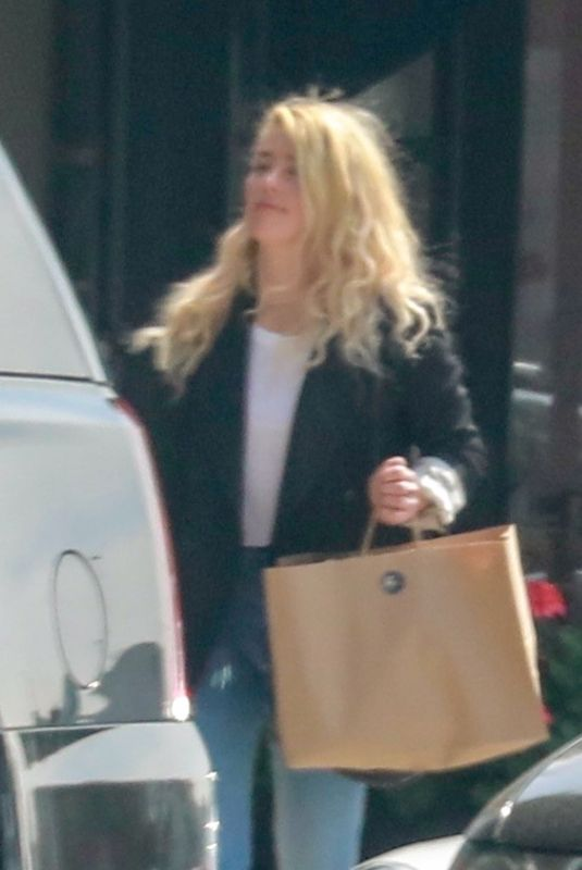 AMBER HEARD Out and About in Los Angeles 03/06/2020