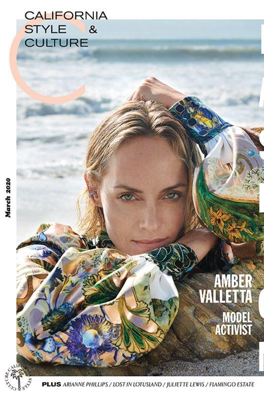 AMBER VALLETTA in C California Syle Magazine, March 2020